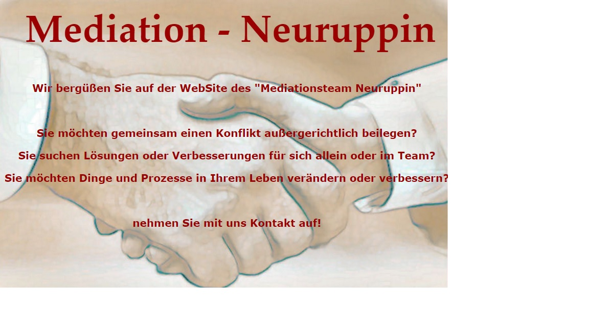 Infos zu Mediationsteam Neuruppin